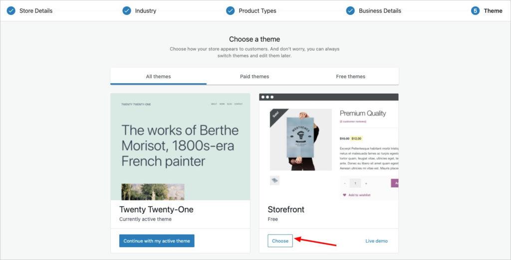 WooCommerce Store Profiler