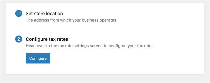WooCommerce- Taxes