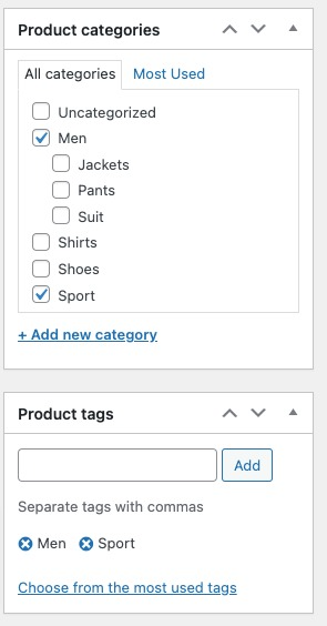 related products in woocommerce