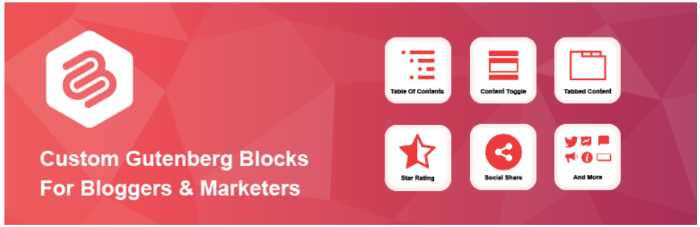 Gutenberg Blocks plugin 6